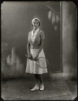 Winifred Alice ('Freda') James, by Bassano Ltd - NPG x150851