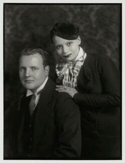 Constant Lambert; Florence Lambert (née Kaye, later Hole), by Bassano Ltd, 10 May 1933 - NPG x150854 - © National Portrait Gallery, London