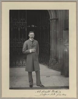 Hugh Oakeley Arnold-Forster, by Benjamin Stone - NPG x128586