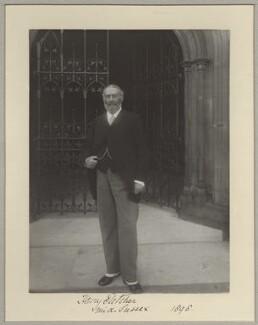 Sir Henry Aubrey-Fletcher, 4th Bt, by Benjamin Stone - NPG x128588