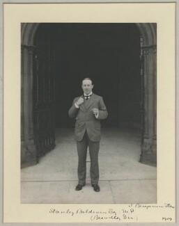 Stanley Baldwin, 1st Earl Baldwin, by Sir (John) Benjamin Stone, 1909 - NPG x8282 - © National Portrait Gallery, London
