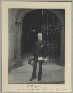 John Blair Balfour, 1st Baron Kinross, by Benjamin Stone - NPG x1098