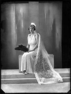 Victoria Morley (née Upcher), Lady Sandhurst, by Bassano Ltd - NPG x150856