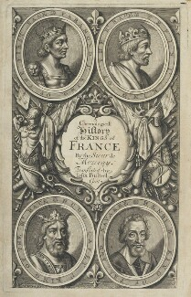 A Chronologicall History of the Kings of France, by William Faithorne - NPG D22782