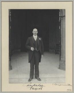 Percy Barlow, by Benjamin Stone - NPG x8288
