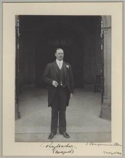 Percy Barlow, by Benjamin Stone - NPG x8289