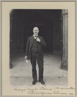 George Nicoll Barnes, by Sir (John) Benjamin Stone, 1907 - NPG x8295 - © National Portrait Gallery, London