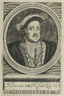 King Henry VIII, by William Faithorne - NPG D22783