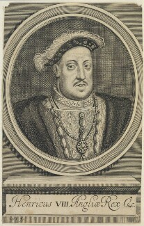 King Henry VIII, by William Faithorne - NPG D22784