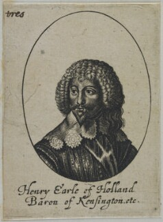 Henry Rich, 1st Earl of Holland, by William Faithorne - NPG D22789
