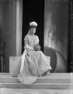 Constance Jane (née Knight), Lady Boyle, by Bassano Ltd - NPG x150862