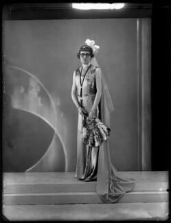 Lady Victoria Alexandrina Villiers (née Innes-Ker), by Bassano Ltd - NPG x150868