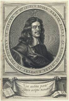 John Kersey, by William Faithorne, after  Gilbert Soest - NPG D22798