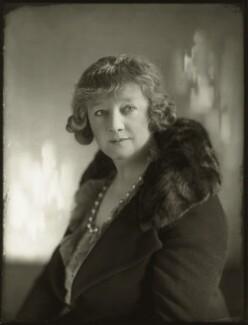 Gwladys Ethel Gwendolen Eugénie (née Sutherst), Marchioness Townshend (later le Stange), by Bassano Ltd - NPG x150873