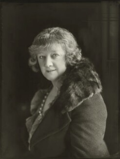 Gwladys Ethel Gwendolen Eugénie (née Sutherst), Marchioness Townshend (later le Stange), by Bassano Ltd - NPG x150874