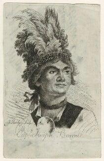 Joseph Brant (Thayendanegea), by James Peachey (Peachy, Pitchy), after  Gilbert Stuart, 1786 - NPG D23311 - © National Portrait Gallery, London
