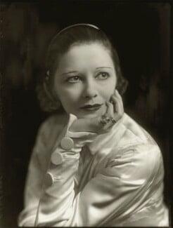 Suzanne Bennett ('Lady Wilkins'), by Bassano Ltd - NPG x150888