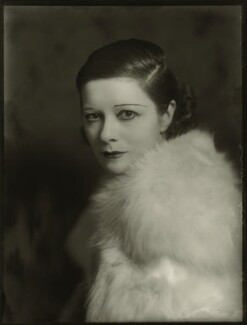 Suzanne Bennett ('Lady Wilkins'), by Bassano Ltd - NPG x150889