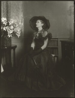 Suzanne Bennett ('Lady Wilkins'), by Bassano Ltd - NPG x150892