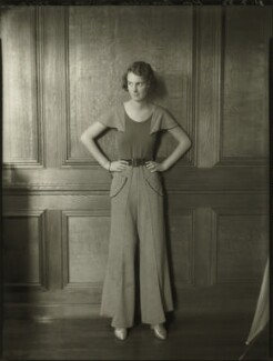 Hon. Priscilla Knight (née Dodson), by Bassano Ltd - NPG x150904