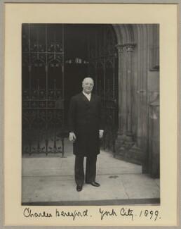 Charles William de la Poer Beresford, Baron Beresford, by Benjamin Stone - NPG x8810