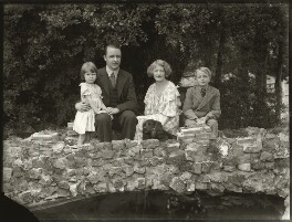'Lady Mabel Lunn and family', by Bassano Ltd - NPG x150907