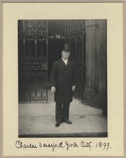 Charles William de la Poer Beresford, Baron Beresford, by Benjamin Stone - NPG x8811