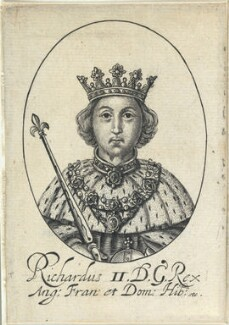 King Richard II, probably by William Faithorne - NPG D22805