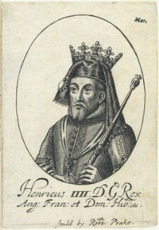 King Henry IV, probably by William Faithorne, published by  Sir Robert Peake - NPG D22806