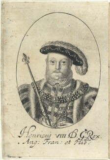 King Henry VIII, probably by William Faithorne - NPG D22810