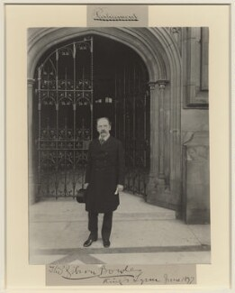 Thomas Gibson Bowles, by Benjamin Stone - NPG x8831