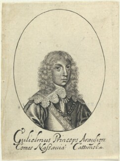 William II of Orange-Nassau, probably by William Faithorne, probably published by  Sir Robert Peake - NPG D22821