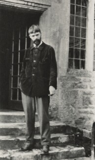 D.H. Lawrence, by Lady Ottoline Morrell - NPG x140423