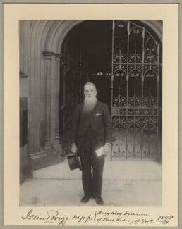 Sir John Brigg, by Benjamin Stone - NPG x8904