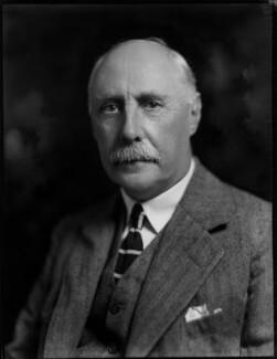 Colin Frederick Campbell, 1st Baron Colgrain, by Bassano Ltd - NPG x150934