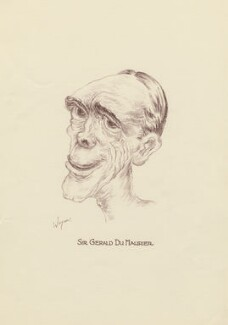 Sir Gerald Du Maurier, by Mark Wayner (Weiner) - NPG D23321
