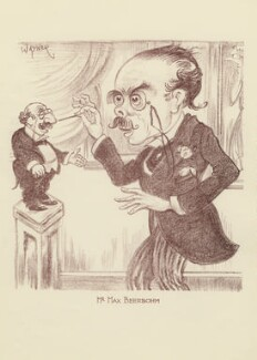 Sir Max Beerbohm, by Mark Wayner (Weiner) - NPG D23324