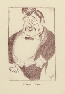 Arnold Bennett, by Mark Wayner (Weiner) - NPG D23325