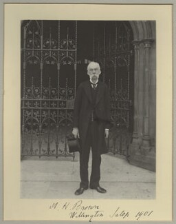 Sir Alexander Hargreaves Brown, 1st Bt, by Benjamin Stone - NPG x8912