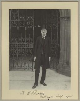 Sir Alexander Hargreaves Brown, 1st Bt, by Benjamin Stone - NPG x8913