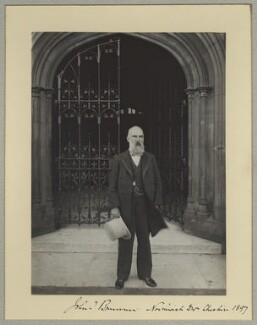 Sir John Tomlinson Brunner, 1st Bt, by Benjamin Stone - NPG x8918