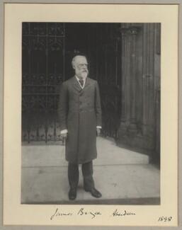 James Bryce, 1st Viscount Bryce, by Sir (John) Benjamin Stone, 1898 - NPG x8919 - © National Portrait Gallery, London