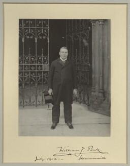 Sir William James Bull, 1st Bt, by Benjamin Stone - NPG x8915