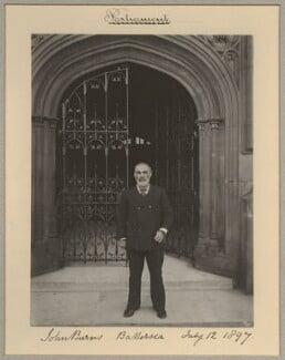 John Elliott Burns, by Sir (John) Benjamin Stone, 12 July 1897 - NPG x8921 - © National Portrait Gallery, London