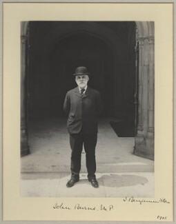 John Elliott Burns, by Sir (John) Benjamin Stone, 1905 - NPG x8923 - © National Portrait Gallery, London