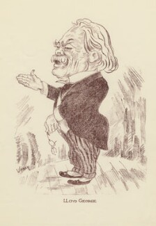 David Lloyd George, by Mark Wayner (Weiner) - NPG D23333