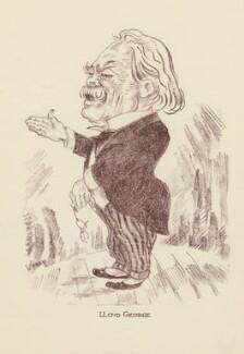David Lloyd George, by Mark Wayner (Weiner) - NPG D23333