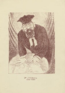 Joseph Herman Hertz, by Mark Wayner (Weiner) - NPG D23337