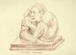Jacob Epstein, by Mark Wayner (Weiner) - NPG D23345