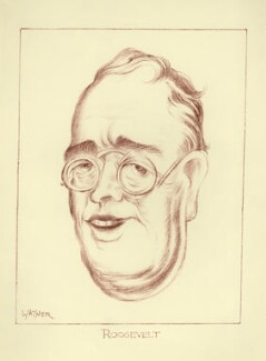 Franklin Roosevelt, by Mark Wayner (Weiner) - NPG D23349